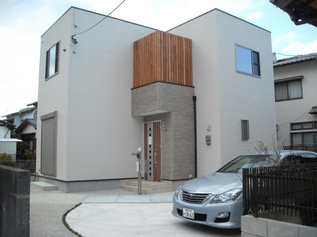 注文住宅一戸建て施工実績写真1