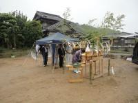 糸島市の注文住宅H様邸戸建て 地鎮祭を催しました