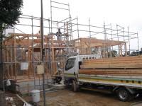 糸島市の注文住宅 H様邸戸建て 上棟式掲載サムネイル写真2