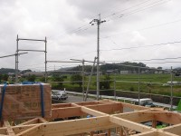 糸島市の注文住宅 H様邸戸建て 上棟式掲載サムネイル写真4