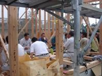 糸島市の注文住宅 H様邸戸建て 上棟式掲載サムネイル写真6