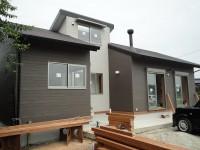 糸島市の注文住宅建築 H様邸戸建て 完成間近です!