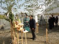 福岡市東区の注文建築 寿司の次郎長 地鎮祭掲載サムネイル写真4