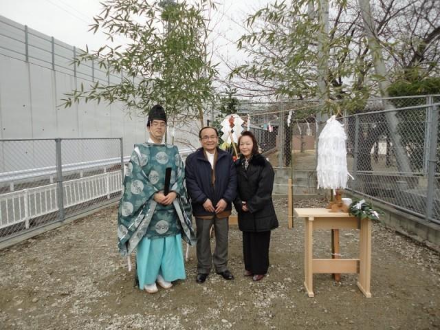 福岡市東区の注文建築 寿司の次郎長 地鎮祭掲載写真6