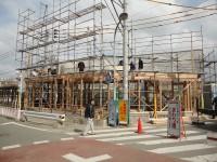 福岡市東区の注文建築 寿司の次郎長 上棟式