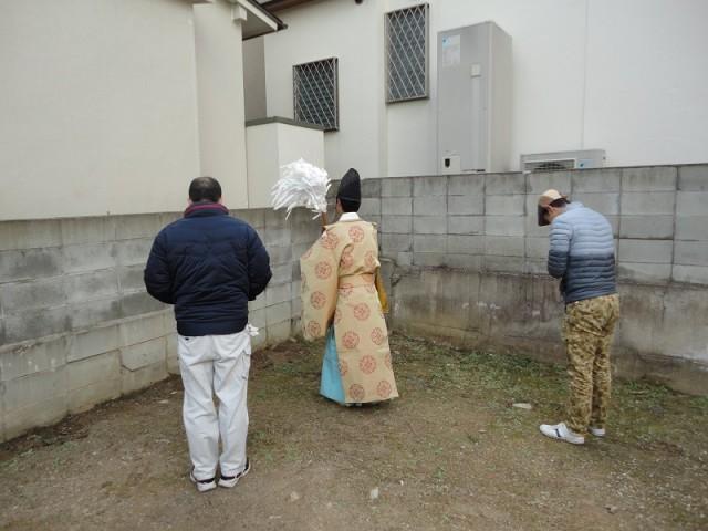 福岡市城南区の注文住宅建築 W様邸地鎮祭掲載写真3