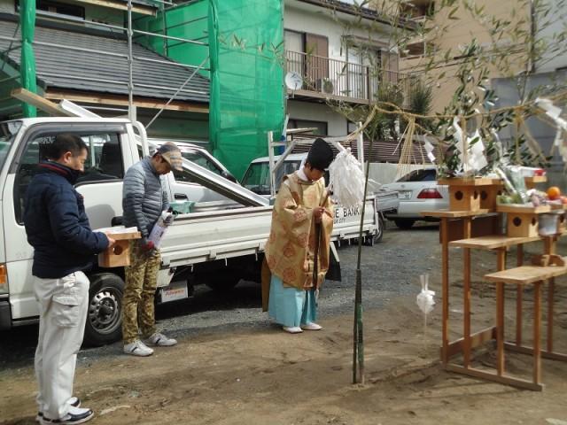 福岡市城南区の注文住宅建築 W様邸地鎮祭掲載写真4