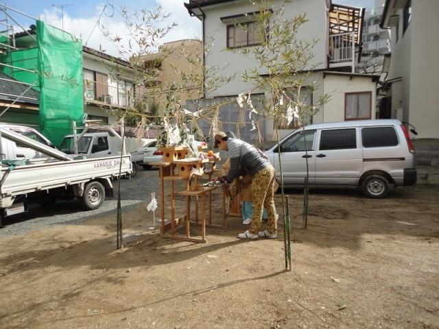 福岡市城南区の注文住宅建築 W様邸地鎮祭掲載写真5