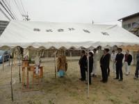 福岡市早良区原の(仮称)原テナント注文建築 地鎮祭